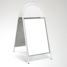 A1 White Rounded A Board