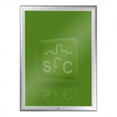 A4 Aluminium Lockable Snap Frame