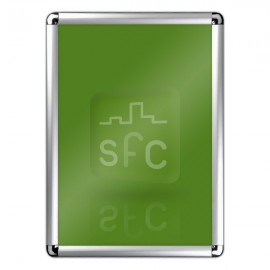 A5 Rounded Corner Snap Frame